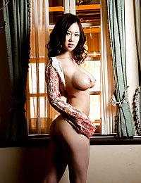 big tits Chinese with big nipples