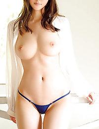 busty Japanese bbc porn photo